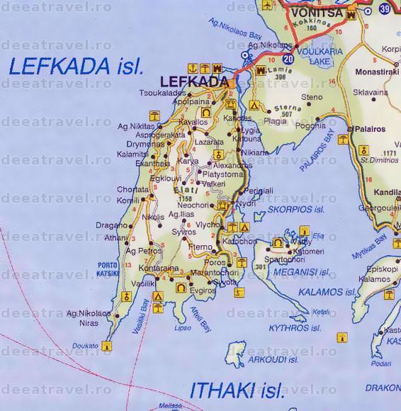 Grecia Litoral 2020 Individual Lefkada Agentia De Turism Deea