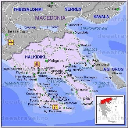 Grecia Litoral 2020 Individual Halkidiki Agentia De Turism